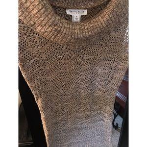 WHBM Sleeveless Knit Sweater